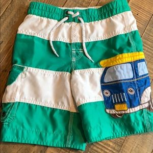 Stripe Gap swim trunks size 5